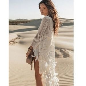 Spell & the Gypsy Collective Mandala crochet coat